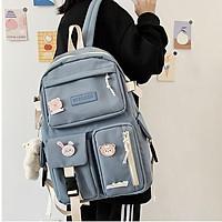 Balo nữ ulzzang cao cấp đựng vừa laptop đi học đi chơi phong cách Hàn quốc- 3N