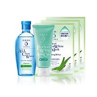 Bộ sản phẩm dành cho da mụn Senka (A.L.L Clear Water Fresh 230ml+SRM Acne Care 100g+Mặt nạ 25mlx3)_95121