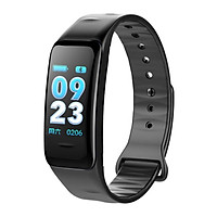 Moresave C1S Smart Bracelet Color Screen Blood Pressure Waterproof Fitness Tracker Heart Rate Monitor Smart Band for Android IOS