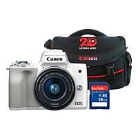 Máy Ảnh Canon EOS M50 Kit 15-45mm - Hàng Chính Hãng (Tặng Kèm Thẻ Nhớ Và Túi Đựng Máy Ảnh)