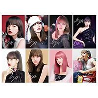 Poster LISA BLACK PINK 8 tấm