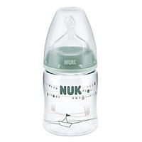 Bình Sữa PA Núm Ti 150ml Silicone S1 Nuk NU21475 (Size M) - Màu Ngẫu Nhiên