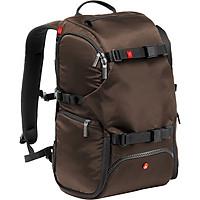 Ba Lô Máy Ảnh Manfrotto Backpack Travel Màu Nâu - Hàng Chính Hãng