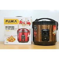 Nồi cơm điện tách đường Fujika 1.8L tốt cho sức khỏe mọi nhà, màu ngẫu nhiên-Hàng chính hãng