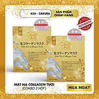[BEST SELLER] Combo 2 Hộp Mặt Nạ Collagen Tươi (Hộp 3 Miếng)