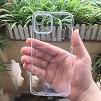 Ốp lưng silicon Gor cho Apple iPhone 12 Pro Max 6.7 inch siêu mỏng, có gờ bảo vệ camera - Hàng nhập khẩu