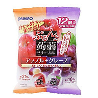 Thạch trái cây mix táo nho Orihiro 240g