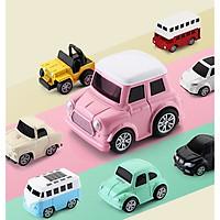 Bộ 8 Ô Tô Mô Hình Đồ Chơi Mini Car Cho Bé Bằng Thép Cao Cấp Chính Hãng miDoctor