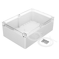 Sealed box / plastic waterproof box / transparent cover / junction box f6t (263*185*95)
