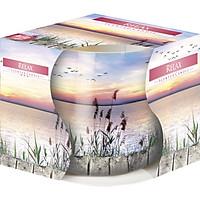 Ly nến thơm tinh dầu Bispol Relax 100g PTT04317 - hương cây lau