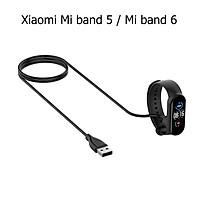 Dây Sạc Thay Thế Dành Cho Vòng Đeo Tay Thông Minh Xiaomi Mi band 5 Dạng Nam Châm Hít Dài 30 cm