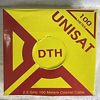 DÂY CÁP RG6 UNISAT (DTH) 100M HÀNG CHÍNH HÃNG.