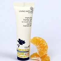 Gel hỗ trợ điều trị mụn mật ong Manuka Living Nature Manuka Honey Gel 10ml