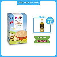 Bột ăn dặm dinh dưỡng Sữa, Hoa quả, Bắp HiPP Organic 250g