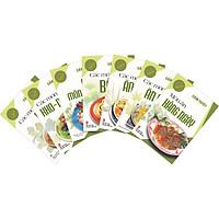 Combo 7 cuốn: (Nấu Ăn Ngon) Các Món Ăn Nhẹ - Các Món Ăn Chơi - Các Món Bánh - Các Món Kho Nướng - Các Món Nấu - Gỏi & Món Nguội - Món Ăn Hàng Ngày.