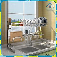Kệ chén bát gác bồn rửa Homepower GS01n / GS02n - Hàng Chính Hãng