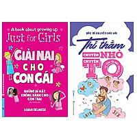 Combo 2 cuốn: Giải Nai Cho Con Gái (Những Bí Mật Không Dành Cho Con Trai) + Thì Thầm Chuyện Nhỏ Chuyện To (Từ Tình Yêu Đến Tình Dục)