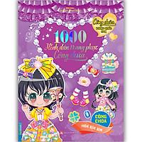 1000 Hình Dán Trang Phục Công Chúa - Công Chúa Hoa Bìm Bìm (Tái Bản)