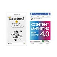 Combo Hay Về Content Marketing : Content Marketing Trong Kỷ Nguyên 4.0 + Content Hay Nói Thay Nước Bọt