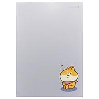 Sổ Shiba Perfect 20J - Morning Glory 82610 - Màu Tím
