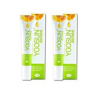 Combo 2 tuýp  kem ngăn ngừa mụn thiên nhiên yoosun acnes  15g - XẸP MỤN NGAY, BAY THÂM SẸO