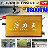 68000W DC 12V Ultrasonic Inverter Electronic Fisher High Power Sine Wave Fishing Machine Safe Inverter