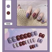 Bộ 24 móng tay giả nail thơi trang như hình (R-048)