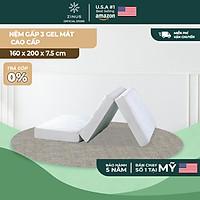Nệm Gel Mát Gấp 3 Zinus Tri-Fold Mattress