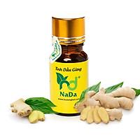 Tinh dầu thiên nhiên Nada- Tinh dầu Gừng nguyên chất 100% - Nhập khẩu từ Ấn Độ