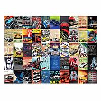CAR - Set 50 tấm 22x30cm decal dán tường trang trí decor quán nhà cửa chủ đề Xe hơi