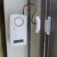 Thiết bị báo động chống trộm cảm ứng từ bảo vệ nhà cửa thông minh Version4 (Tặng đèn pin bóp tay mini -giao màu ngẫu nhiên)
