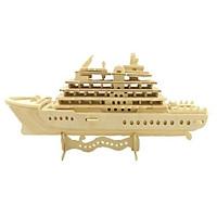 Mô hình lắp ghép 3D bằng gỗ Du thuyền Hoàng gia - Luxury Yatch