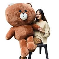 Gấu Bông Brown 1m4 khổ cao 1m2 Ngộ Nghĩnh