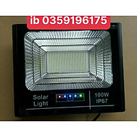Đèn led pha năng lượng mặt trời 50W 100w 200w 300w 400W