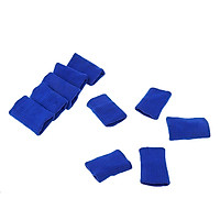 10Pcs Finger Protector Guard Support Stretchy Sports Fitness Aid Band Black