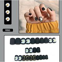 Bộ 24 móng tay giả nail thơi trang (như hình-R063)
