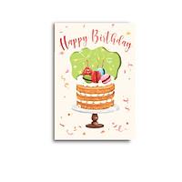 Thiệp sinh nhật Macaron