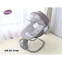 Nôi ru ngủ thư giãn kết hợp ghế ngồi đọc sách cho bé có nhạc Mastela 8104/8106 - điều khiển từ xa - kết hợp Bluetooth