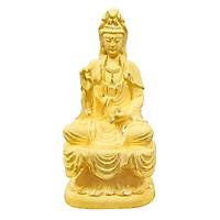 Bồ Tát Khang Ninh phủ vàng 24K quà tặng mỹ nghệ KBP DOJI DJDE1048