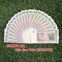 Combo 20 tờ lưu niệm hình con Trâu của Zimbabwe, dùng để sưu tầm, lưu niệm, làm tiền lì xì độc lạ, may mắn, ý nghĩa - TMT Collection - SP005075