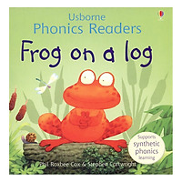Usborne Frog on a log