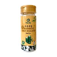 Muối tre The GL nung 1 lần – gia vị tự nhiên tốt cho sức khỏe, hỗ trợ tăng sức đề kháng, cung cấp khoáng chất, hỗ trợ da dị ứng, nêm nếm, ướp thực phẩm, đánh răng, xúc miệng, rửa mặt hằng ngày