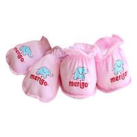 Bộ Chăm Sóc Trẻ Sơ Sinh Merigo Bông Bạch Tuyết TP-BABY06 - Hồng