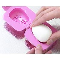 Khuôn tạo hình cơm, trứng hình gấu và thỏ - Hàng Nội Địa Nhật