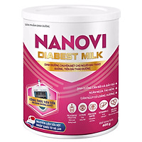 Thực phẩm dinh dưỡng dành cho người lớn Nanovi Diabest Milk