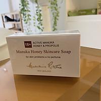 Xà phòng y tế hỗ trợ giảm mụn, kích ứng, dị ứng Madeleine Ritchie 18+ Active Manuka Honey & Propolis 125g