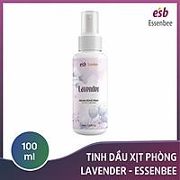 Tinh dầu xịt phòng Lavender – Essenbee – 100ml