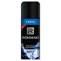 Xịt khử mùi toàn thân cho Nam Romano Force 150ml-mẫu mới