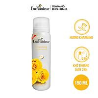 Xịt khử mùi nước hoa Enchanteur Charming nồng nàn duyên dáng ngăn mồ hôi & mùi cơ thể 150ml