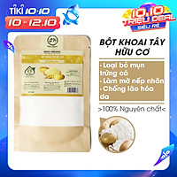Bột Khoai Tây hữu cơ UMIHOME nguyên chất (35g) mặt nạ bột đắp mặt dưỡng trắng hồng da, hỗ trợ làm sạch mụn hiệu quả tại nhà
